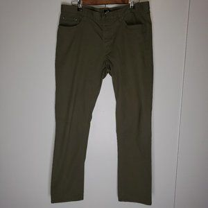 H&M SLIM FIT CASUAL COTTON CHINO PANTS 34